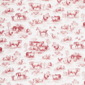 Down on the Farm - Farm Red Yardage