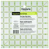 """Omnigrid Omnigrip Neon Ruler 8 1/2"""" x 8 1/2"""""""
