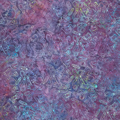 Sew Fine Batiks - Notions Purple Yardage