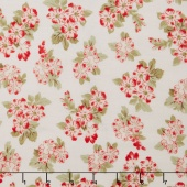 Aubrey - Bouquet Cream Yardage