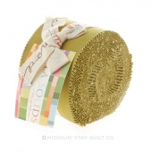 Bella Solids Fig Tree Olive Junior Jelly Roll by Moda