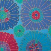 "The Kaffe Fassett Collective - Carpet Blue 108"" Wide Backing"