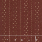 Flower Garden Gatherings - Clover Stripe Mum Yardage