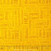 Our World - World Hello Gold Yardage