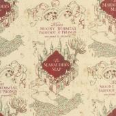 Wizarding World - Harry Potter Marauders Map Yardage