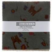Folk Art Flannels Charm Pack