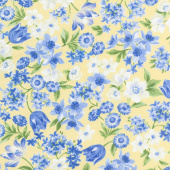 Summer Breeze VI - Spring Garden Yellow Yardage