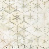 Artisan Batiks - Dot Dot Dot 2 Hexagon Dots Sand Yardage