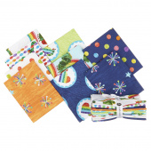 The Very Hungry Caterpillar Bright Fat Quarter Bundle