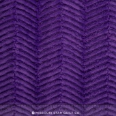 "Cuddle - Soft Cuddle Ziggy Amethyst 60"" Minky Yardage"
