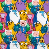 Adventure Time - Packed Characters Yardage