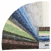 "Tonga Treats Batiks - Skyview 2.5"" Strips"