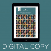 Digital Download - Vintage Bouquet Quilt Pattern by Missouri Star