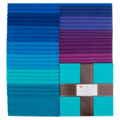 Kona Cotton - Peacock Palette Ten Squares