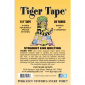 """Tiger Tape® - 1/4"""" Tape - 12 lines per inch"""