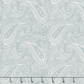 Snowberry - Paisley Snow Sky Yardage