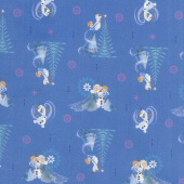 Disney Olaf's Frozen Adventure - Family Tradition in Navy Yardage