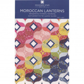 Moroccan Lantern Quilt Pattern by Missouri Star