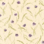 Mill Creek Garden - Wildflowers Ivory Yardage