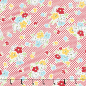 Farm Girl Vintage - Main Red Yardage