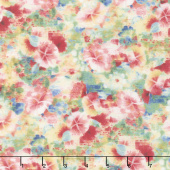 Bohemian Dreams - Flowers Allover Pink Yardage