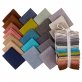 Essex Linen Shimmer On Coordinates Fat Quarter Bundle