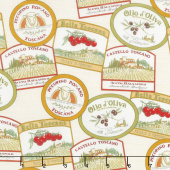 Bella Toscana - Labels Cream Yardage