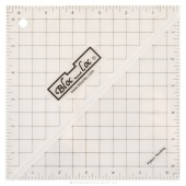 "Bloc Loc  6 1/2"" Square Up Ruler"