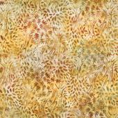 Artisan Batiks - Cornucopia 10 Trees Maize Yardage