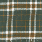 Mammoth Flannel - Plaid Oregano Yardage