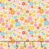 Happy Day - Happy Floral Multi Yardage