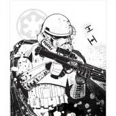 Star Wars - Stormtrooper White Panel