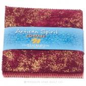 Artisan Spirit - Shimmer Hibiscus Metallic Charm Pack