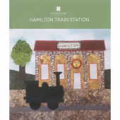 Missouri Highway 36 Hamilton Train Station Block Pattern by Missouri Star