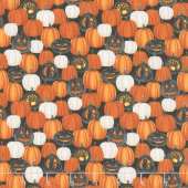 Harvest Moon - Small Pumpkins Orange Yardage