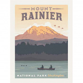 National Parks - Rainier National Park Poster Panel