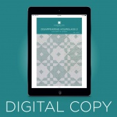 Digital Download - Disappearing Hourglass 2 Quilt Pattern by Missouri Star