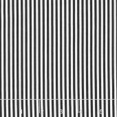 Be Merry - 1/8Th Stripe Black Yardage