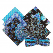 Regency 5 Easy Pieces Metallic Fat Quarter Bundle