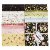 "Wild Rose Flannel 10"" Squares"