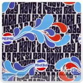 Pepsi - Have a Pepsi Day Navy Yardage