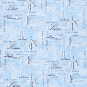 Limoncello - Carte Postale Blue Yardage