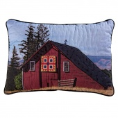 Following The Barn Quilt Trail Pillow Kit