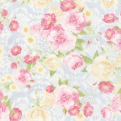 Paris Romance - Antique Flowers Antique Yardage