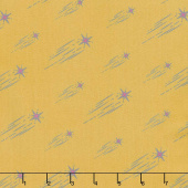 Mystical Land - Astral Rain Cluster Yellow Yardage