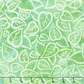Artisan Batiks - Color Source 8 - Scattered Leaves Sprout Yardage
