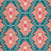 Legendary - Brit Boutique Boho Dark Teal Yardage