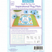 Daily Mews Quilt As You Go Inspirational Mug Mats Kit