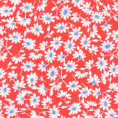 Back Porch - Blooming Country Red Yardage
