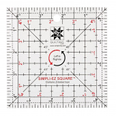 EZ Quilting Leftie Rightie Square Ruler